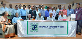 Governing Council of Philatelic Congress of India 2016-18
